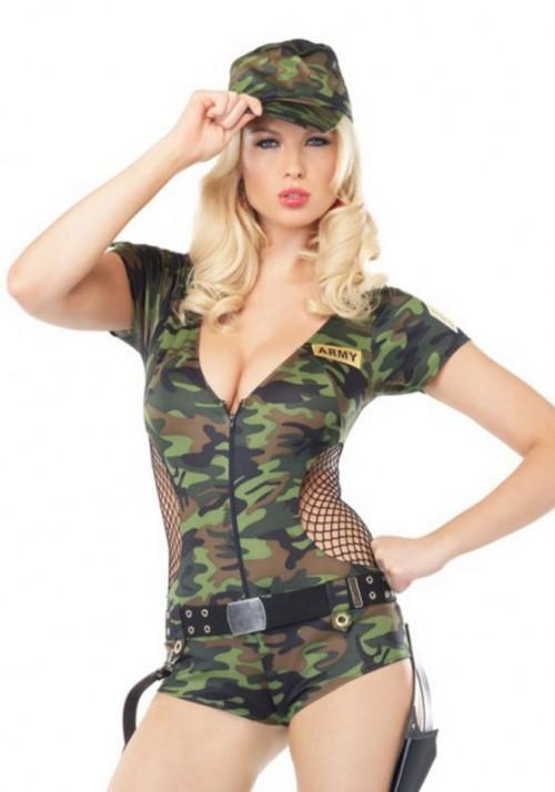 Секси девушки в военной форме фото 75775 фотография
